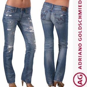 AG The Kiss Straight Leg Jeans 27